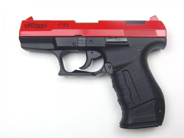 Walther P99 -20 Jahre Edition- ROT Schreckschusspistole 9mm P.A.K.