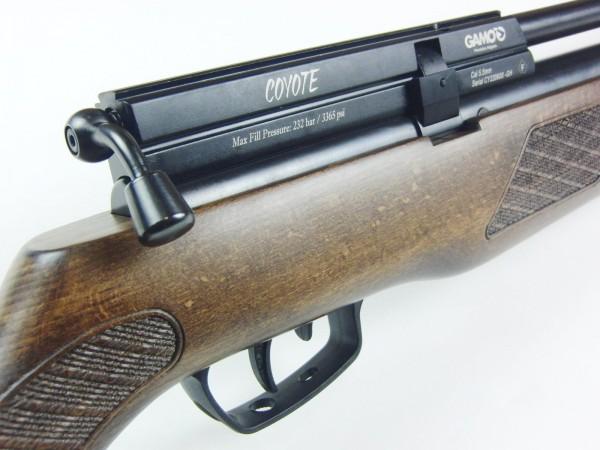 GAMO Cojote Wood PCP Pressluftgewehr, 5,5mm Diabolo