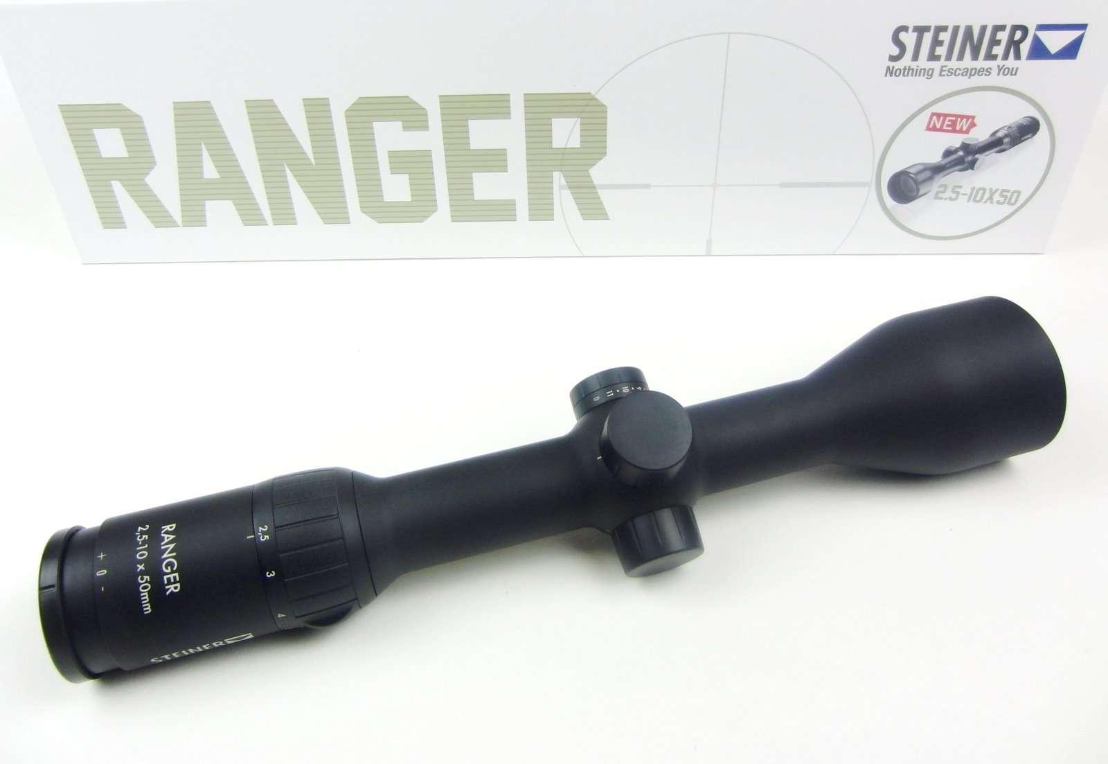 Steiner ranger 2 5 10x50 zielfernrohre optik waffen schmitt