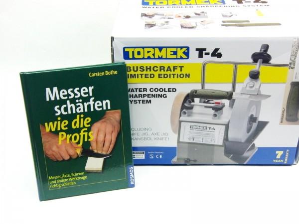 Tormek T-4 Nass-Schleifsystem, Messerschleifen wie die Profis