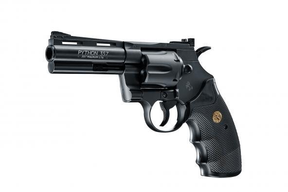 Colt Python Black cal. 4,5 mm (.177) BB - 4 Zoll