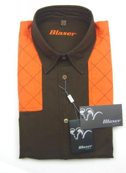 Blaser Outfits Twill Hemd Modern Herren Benni