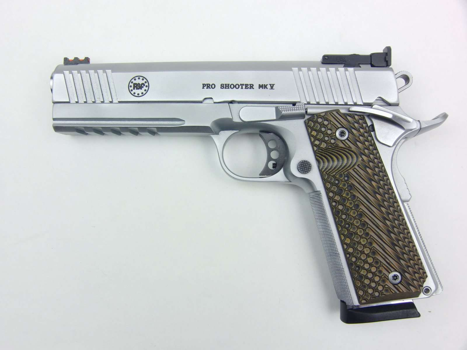 RBF PRO SHOOTER MK V - Modell HS, 5 Zoll, 9mm Para   Waffen Schmitt ...