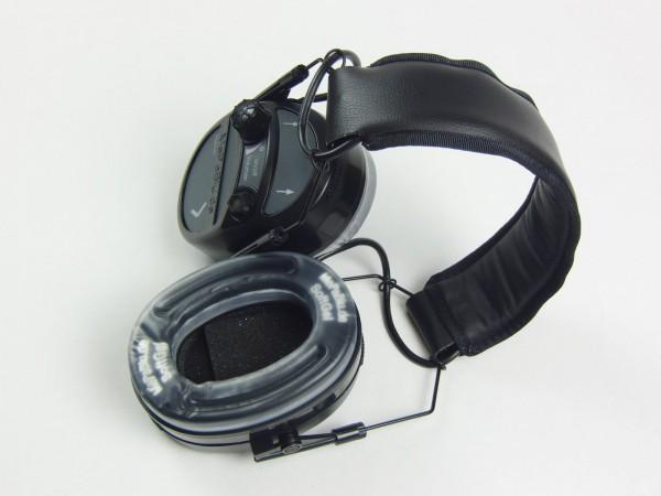Aktiver Gehörschutz Mepablu SILENCER Plus m.Gelpolster für den Spotzschützen und Jäger