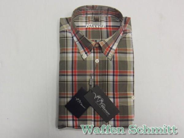 Blaser Simon Popline-Hemd