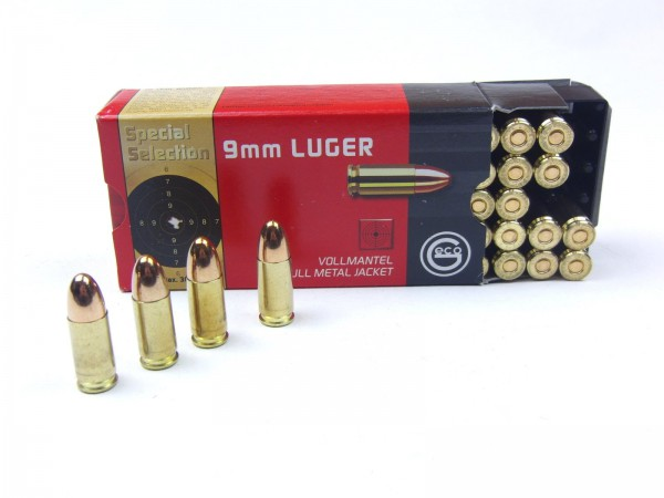 Geco 9mm Luger VM Special Selection 124gr./8,0g