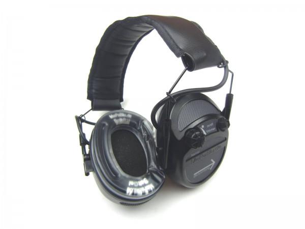 Aktiver Gehörschutz Mepablu Target Standard für den Spotzschützen und Jäger