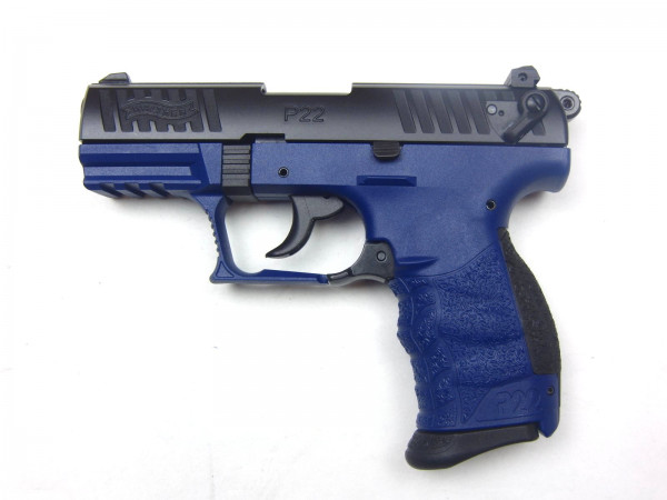 Walther P22Q, 9mm P.A.K, Sondermodell (Bluestar)