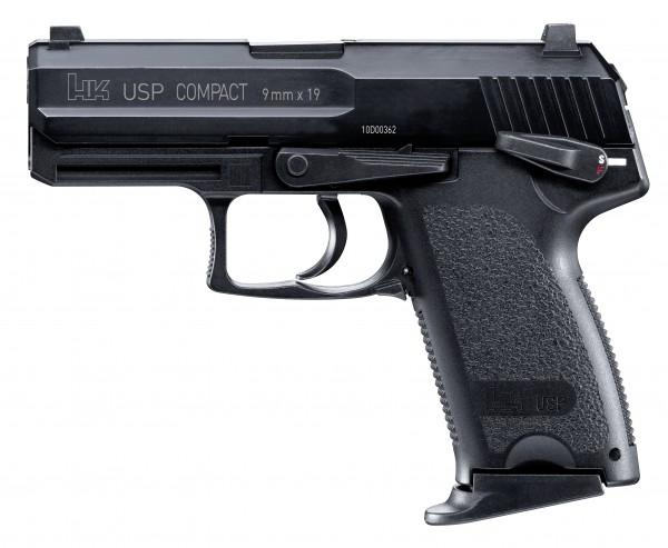 Heckler & Koch USP Compact cal. 6 mm BB - schwarz
