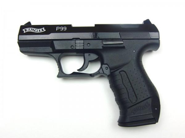 Walther P99 -20 Jahre Edition- SCHARWZ Schreckschusspistole 9mm P.A.K.