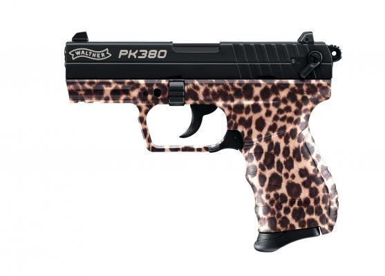 Walther PK380 cal. 9 mm P.A.K. - cheetah