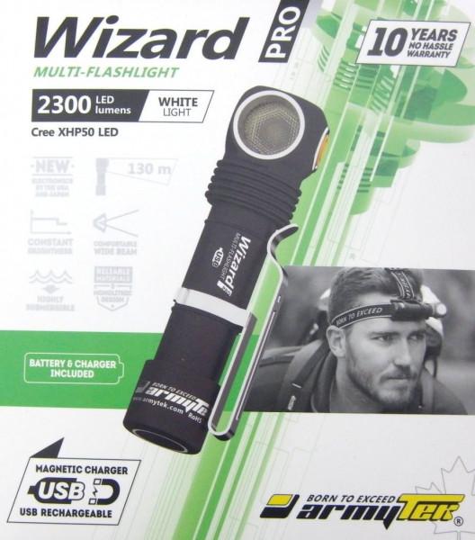 Armytek Wizard Magnet USB Mehrzweckleuchte