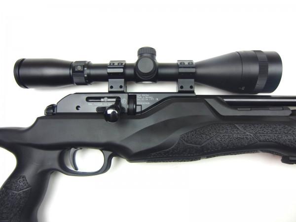 Walther Pressluftgewehr Rotex RM8 mit Bauer ZF 3-9x42 mit Parallaxenausgleich
