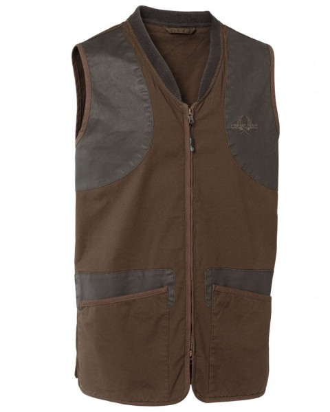 Chevalier Devon Shooting Vest Brown