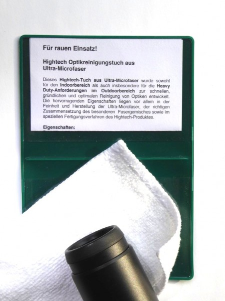 Hightech-Optikreinigungstuch aus Ultra-Microfaser