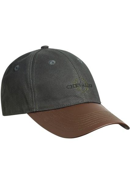 Oiler Cap Faux-Leather Brim