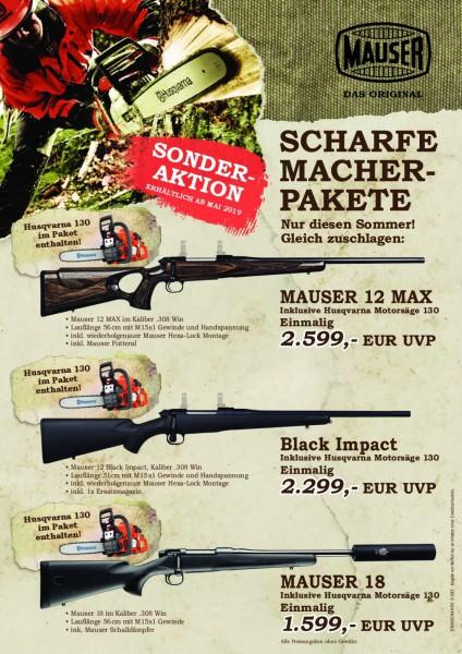 "Mauser 18 .308 Win. ""Scharfe Macher Pakete"""