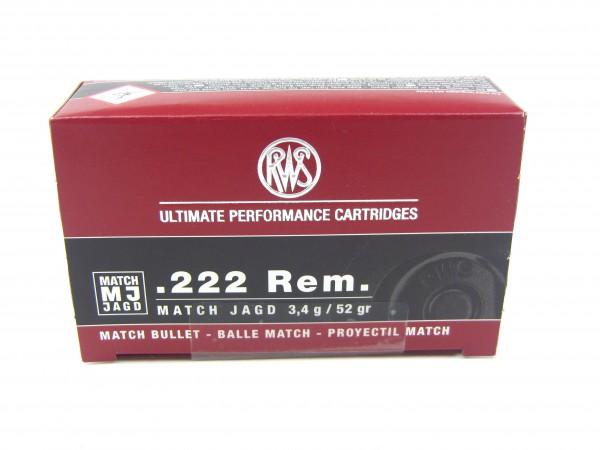 RWS .222 Rem. Match Jagd