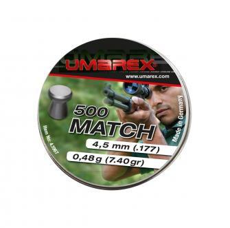 Umarex Match Diabolos 4,5 mm, 500 Stück