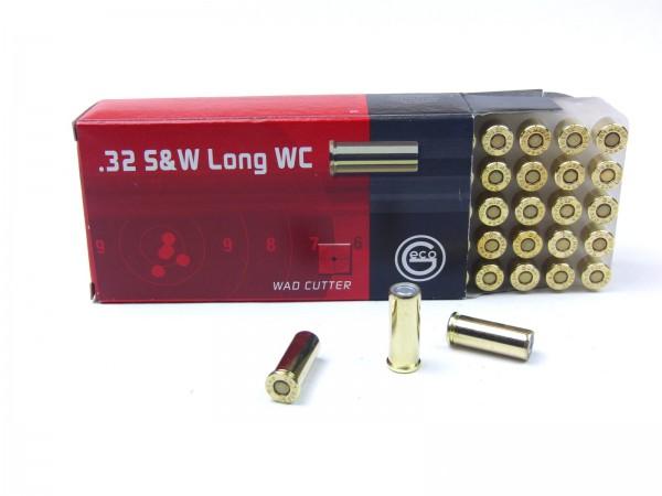 Geco .32 S+W long WC 100gr./6,5g