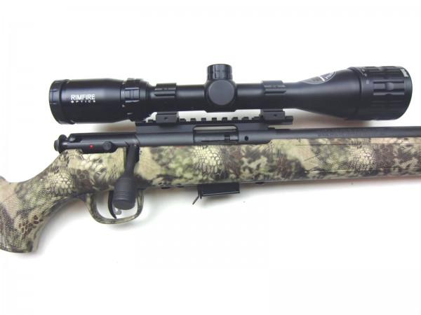 Savage 93R17 .17HMR Camo mit ZF Bushnell 4-12x40