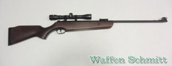 Hämmerli Hunter Force 600 Combo Luftgewehr 4,5 mm - inkl. 4x32 Zielfernrohr