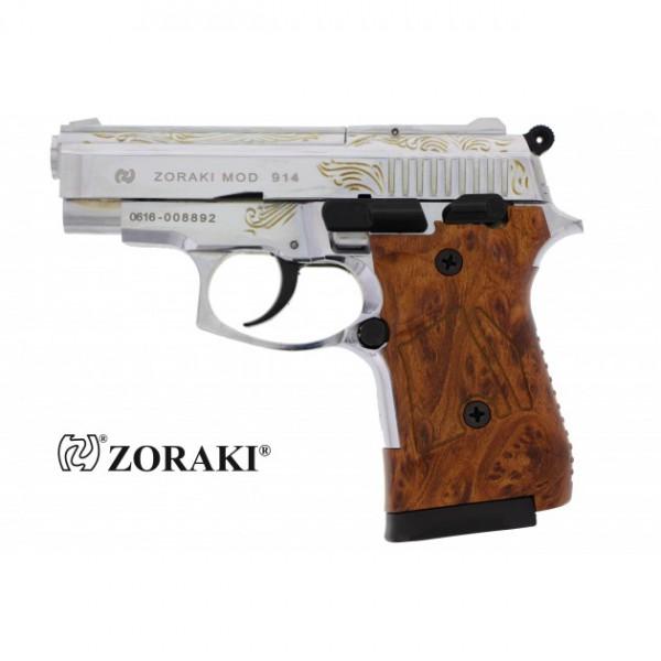 Zoraki 914 graviert und verchromt
