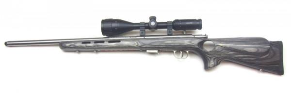 Savage 93R17 Stainless Bolt/Lochschaft .17HMR mit ZF Hawke 4-12