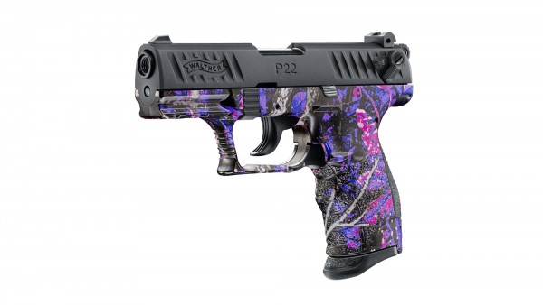 Walther P22Q, cal. 9 mm P.A.K. - Muddy Girl