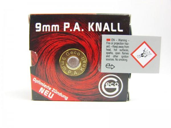 Geco Platzpatronen 9 mm Knallpatronen